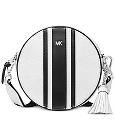MICHAEL Michael Kors Logo Pebble Leather Canteen Bag