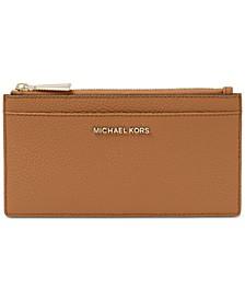 Pebble Leather Slim Card Case