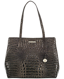 Brahmin Julian Melbourne Embossed LeatherTote