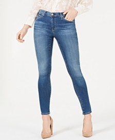 AG Legging Ankle Ripped Denim - Super Skinny Ankle