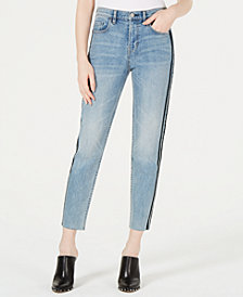 Kendall + Kylie The Vintage Icon Striped Jeans