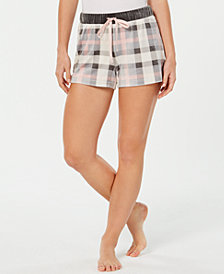 Jenni Velour Pajama Shorts, Created for Macy's