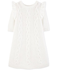 Carter's Toddler Girls Cable-Knit Sweater Dress