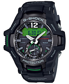 G-SHOCK Men's Solar Analog-Digital Gravitymaster Black Resin Strap Watch 53.8mm