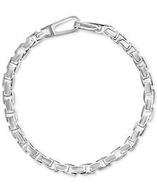 EFFY® Men's Polished Link Bracelet in Sterling Silver