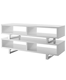 """Amble 47"""" TV Stand in White"""
