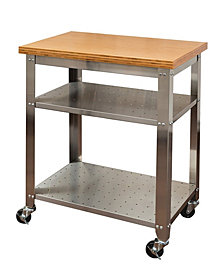 STEEL KITCHEN CART