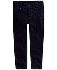 Levi's® Little Girls Super Skinny Velvet Jeans
