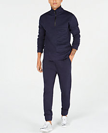 DKNY Mens Fleece Logo Sweatsuit, Created for Macy's