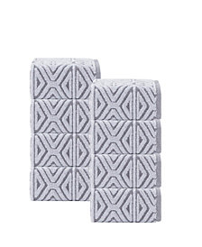 Enchante Home Glamour 8-Pc. Turkish Cotton Wash Towel Set