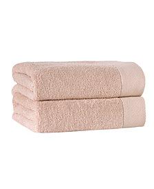 Enchante Home Signature 2-Pc. Bath Sheets Turkish Cotton Towel Set