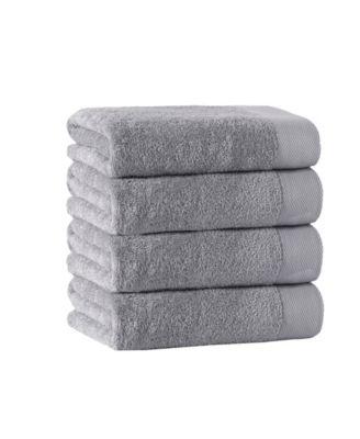 Enchante Home Signature 8 Piece Turkish Cotton Towel and Mat Set