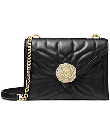 MICHAEL Michael Kors Whitney Petal Quilted Leather Shoulder Bag
