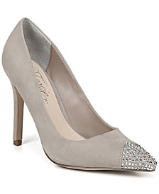 Fergie Affection Women's Embellished Toe Cap Pumps