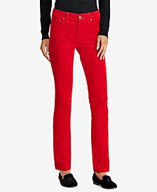 Lauren Ralph Lauren Premier Straight Cord Jeans