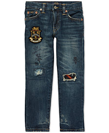 Polo Ralph Lauren Toddler Boys Sullivan Slim Collegiate Cotton Jeans