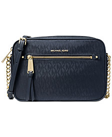 MICHAEL Michael Kors Kelsey Signature East West Small Crossbody