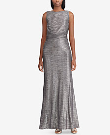 Lauren Ralph Lauren Metallic Gown