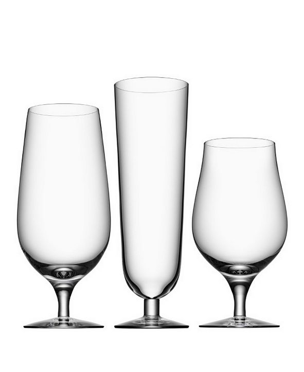 Orrefors Beer Collection, Set of 3