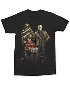 Freddy & Jason Christmas Men's Graphic T-Shirt