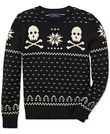 Polo Ralph Lauren Big Boys Jacquard Knit Sweater