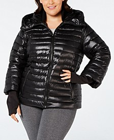 Plus Size Down Puffer Jacket