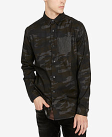 Buffalo David Bitton Men's Tonal Camo Shirt