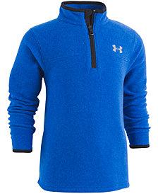 Under Armour Little Boys Heathered 1/4-Zip Fleece Sweater