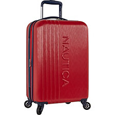 "Nautica 20"" Carry-On Hardside Spinner Suitcase, Lifeboat Collection"