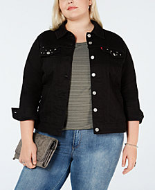 Levi's® Juniors' Plus Size Denim Jacket