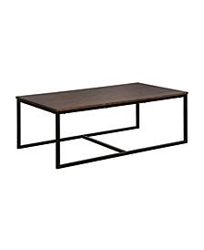 "Arcadia Acacia Wood 54"" Coffee Table"