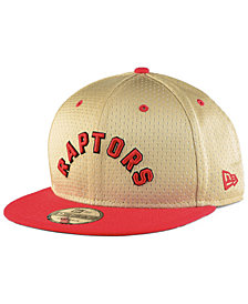 New Era Toronto Raptors Champagne 9FIFTY Snapback Cap