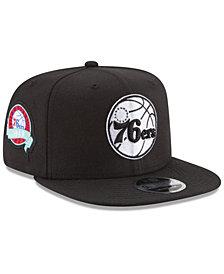 New Era Philadelphia 76ers Anniversary Patch 9FIFTY Snapback Cap