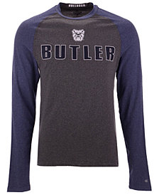 Colosseum Men's Butler Bulldogs Social Skills Long Sleeve Raglan Top