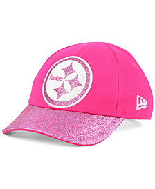 New Era Girls' Pittsburgh Steelers Shimmer Shine Adjustable Cap