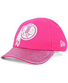 New Era Girls' Washington Redskins Shimmer Shine Adjustable Cap