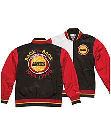 Mitchell & Ness Men's Houston Rockets History Warm Up Jacket