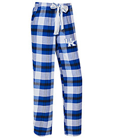 Concepts Sport Women's Kentucky Wildcats Homestretch Flannel Pajama Pants