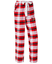 Concepts Sport Women's Louisville Cardinals Homestretch Flannel Pajama Pants