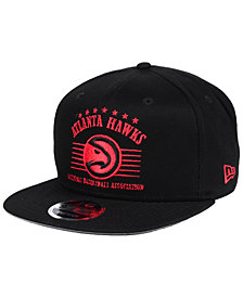 New Era Atlanta Hawks Retro Arch 9FIFTY Snapback Cap