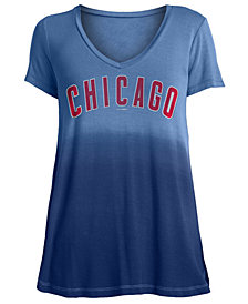 5th & Ocean Women's Chicago Cubs Ombre T-Shirt