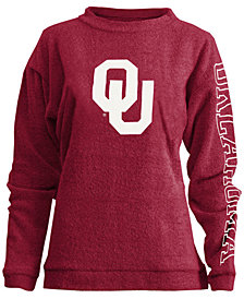 Pressbox Women's Oklahoma Sooners Comfy Terry Sweatshirt