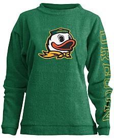 Pressbox Women's Oregon Ducks Comfy Terry Sweatshirt
