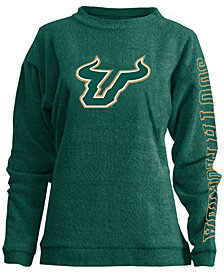 Pressbox Women's South Florida Bulls Comfy Terry Sweatshirt
