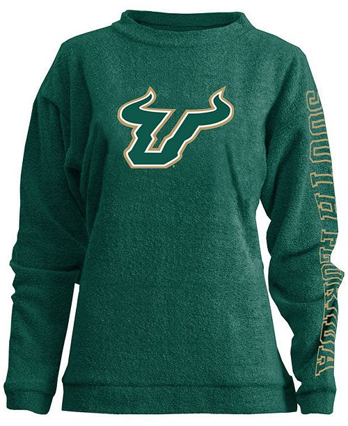 Pressbox Women's South Florida Bulls Comfy Terry Sweatshirt