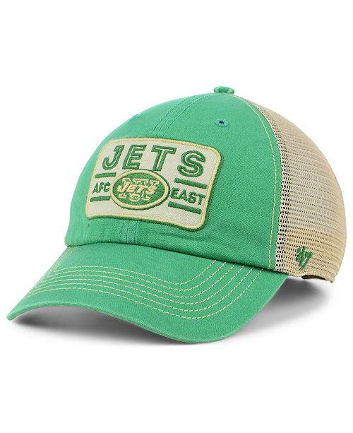 reputable site 0bc0c d3110 ...  47 Brand New York Jets Sallana Mesh CLEAN UP Cap    ...