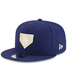 New Era Los Angeles Dodgers Gold Badge 9FIFTY Snapback Cap