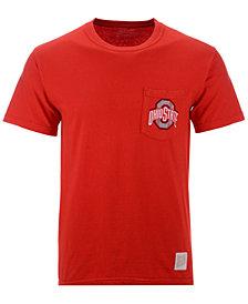 Retro Brand Men's Ohio State Buckeyes Logo Pocket T-Shirt