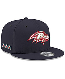 New Era Baltimore Ravens Crafted in the USA 9FIFTY Snapback Cap