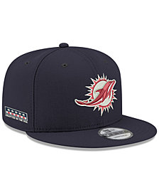New Era Miami Dolphins Crafted in the USA 9FIFTY Snapback Cap